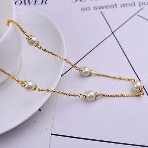 Kate Spade Zircon Pearl Necklace